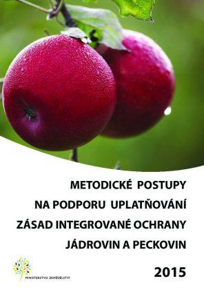 Metodické postupy ochrany jádrovin a peckovin 2015