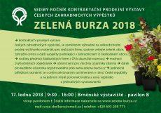 Zelená burza 2018 / fotogalerie / ZB 2018 reklama